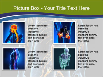 Medical nervous system PowerPoint Template - Slide 14
