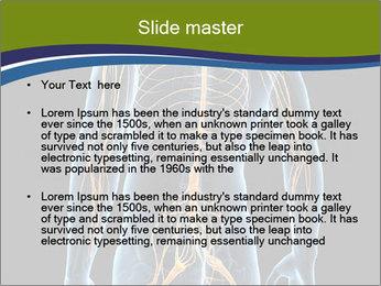 Medical nervous system PowerPoint Template - Slide 2