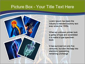 Medical nervous system PowerPoint Template - Slide 23