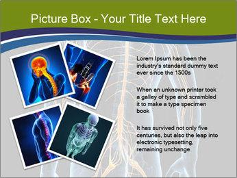 Medical nervous system PowerPoint Templates - Slide 23