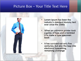Afro-American Businesswoman PowerPoint Template - Slide 13