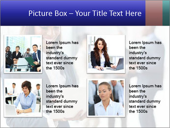 Afro-American Businesswoman PowerPoint Template - Slide 14