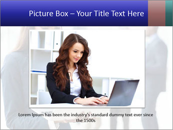 Afro-American Businesswoman PowerPoint Template - Slide 15