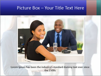 Afro-American Businesswoman PowerPoint Template - Slide 16