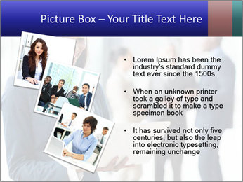 Afro-American Businesswoman PowerPoint Template - Slide 17