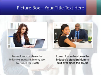 Afro-American Businesswoman PowerPoint Template - Slide 18