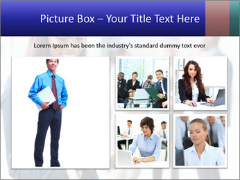 Afro-American Businesswoman PowerPoint Template - Slide 19