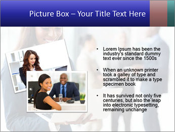 Afro-American Businesswoman PowerPoint Template - Slide 20