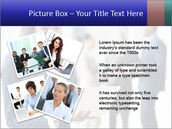 Afro-American Businesswoman PowerPoint Template - Slide 23