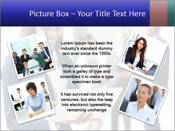 Afro-American Businesswoman PowerPoint Template - Slide 24