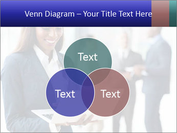Afro-American Businesswoman PowerPoint Template - Slide 33