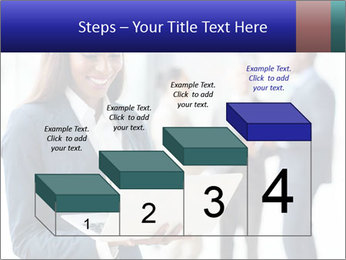 Afro-American Businesswoman PowerPoint Template - Slide 64