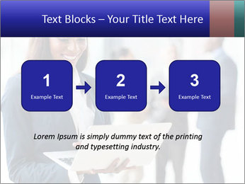 Afro-American Businesswoman PowerPoint Template - Slide 71