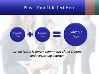 Afro-American Businesswoman PowerPoint Template - Slide 75