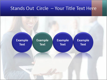 Afro-American Businesswoman PowerPoint Template - Slide 76