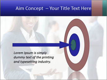 Afro-American Businesswoman PowerPoint Template - Slide 83