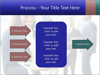 Afro-American Businesswoman PowerPoint Template - Slide 85