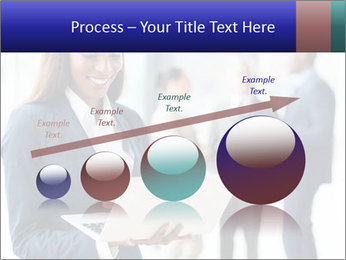 Afro-American Businesswoman PowerPoint Template - Slide 87