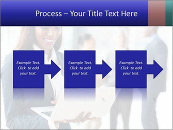Afro-American Businesswoman PowerPoint Template - Slide 88