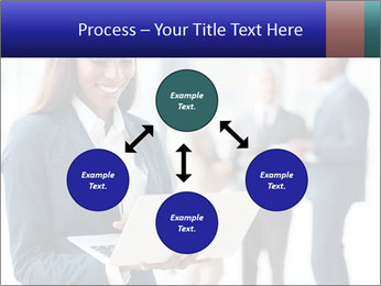 Afro-American Businesswoman PowerPoint Template - Slide 91