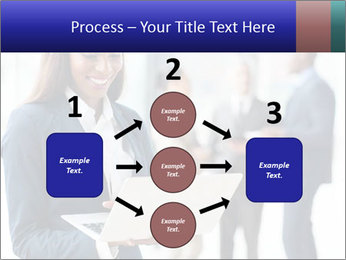 Afro-American Businesswoman PowerPoint Template - Slide 92
