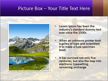 Mountain peaks PowerPoint Template - Slide 13