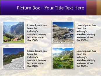 Mountain peaks PowerPoint Template - Slide 14