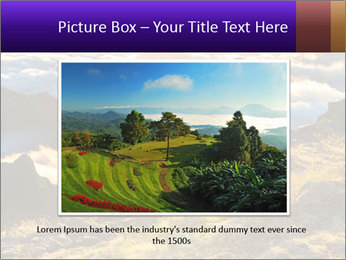 Mountain peaks PowerPoint Template - Slide 15