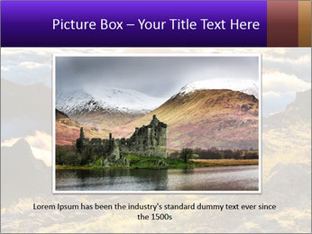 Mountain peaks PowerPoint Template - Slide 16