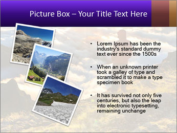 Mountain peaks PowerPoint Template - Slide 17