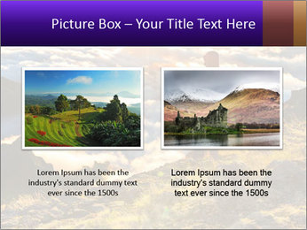 Mountain peaks PowerPoint Template - Slide 18