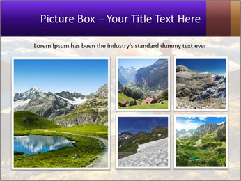 Mountain peaks PowerPoint Template - Slide 19