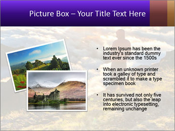 Mountain peaks PowerPoint Template - Slide 20