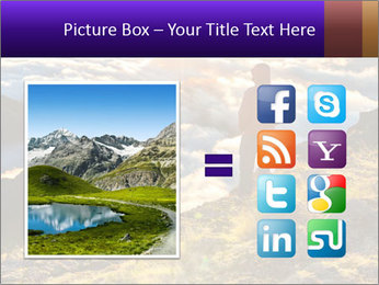 Mountain peaks PowerPoint Template - Slide 21