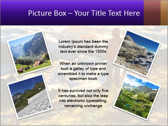 Mountain peaks PowerPoint Template - Slide 24