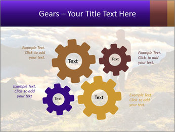 Mountain peaks PowerPoint Template - Slide 47