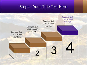 Mountain peaks PowerPoint Template - Slide 64