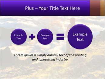Mountain peaks PowerPoint Template - Slide 75