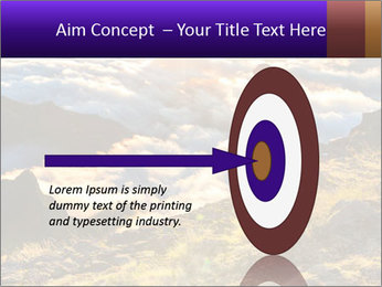 Mountain peaks PowerPoint Template - Slide 83