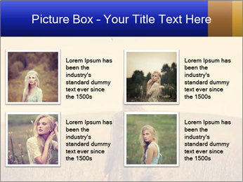Attractive model PowerPoint Template - Slide 14