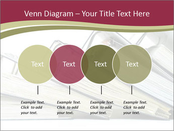 Row of ring binders PowerPoint Templates - Slide 32