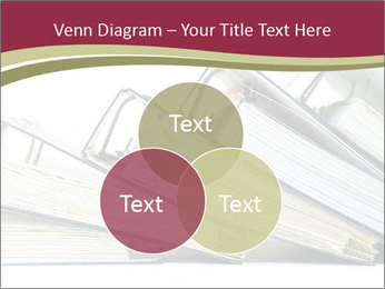 Row of ring binders PowerPoint Templates - Slide 33