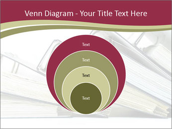 Row of ring binders PowerPoint Templates - Slide 34