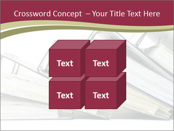 Row of ring binders PowerPoint Templates - Slide 39