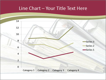 Row of ring binders PowerPoint Templates - Slide 54