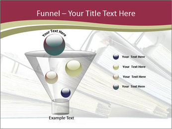 Row of ring binders PowerPoint Templates - Slide 63