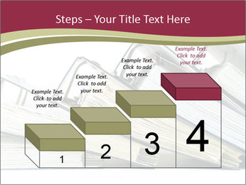 Row of ring binders PowerPoint Templates - Slide 64