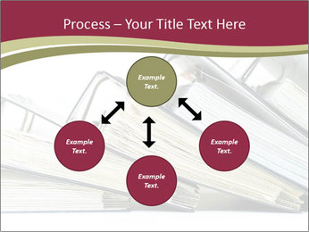 Row of ring binders PowerPoint Templates - Slide 91