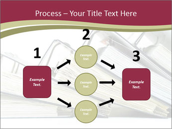 Row of ring binders PowerPoint Templates - Slide 92