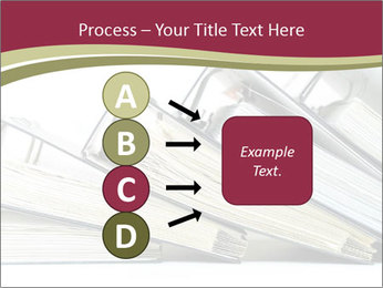 Row of ring binders PowerPoint Templates - Slide 94